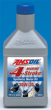 Amsoil SAE 10W-40 Formular 4-Stroke Marine Synthetic Motor Oil (WCF)